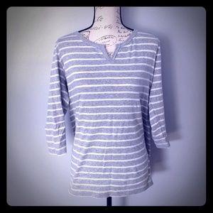 🆕WOT Women's Eddie Bauer 3/4 length sleeve shirt